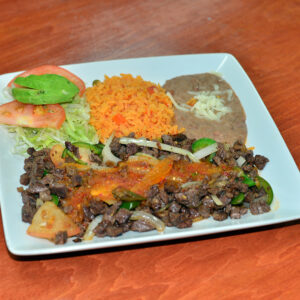 Mexican Style Steak - Bistec a la Mexicana
